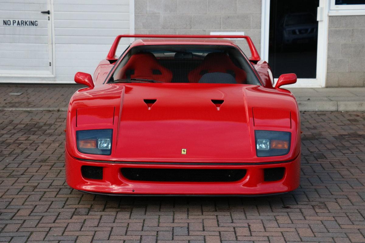 1990 Ferrari F40 - 5,750 Miles - Classiche Certified  For Sale (picture 3 of 6)
