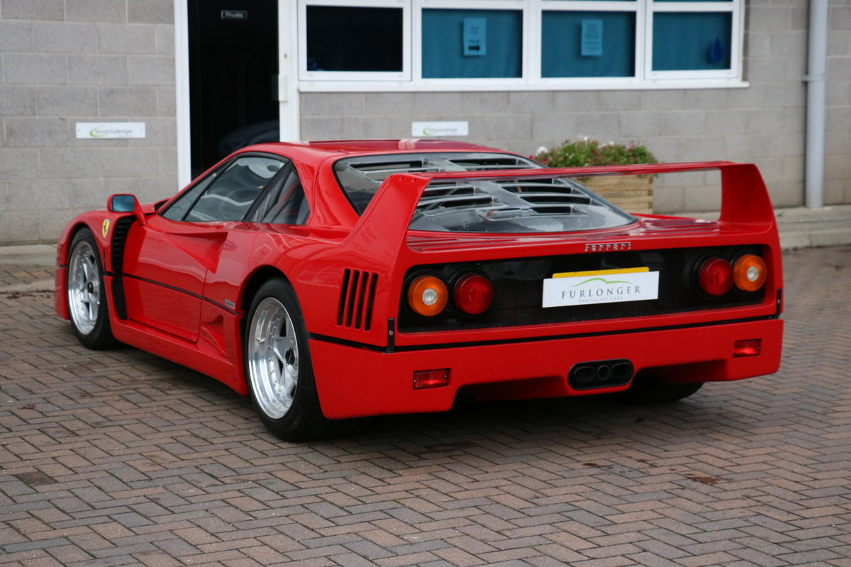 1990 Ferrari F40 - 5,750 Miles - Classiche Certified  For Sale (picture 5 of 6)