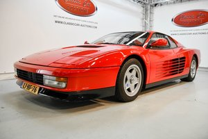 Picture of Ferrari Testarossa 1987 For Sale by Auction