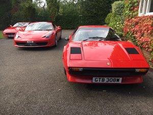 Ferrari 308GTB carb/dry sump RHD steel body