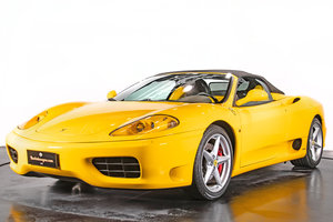 "Picture of FERRARI 360 SPIDER ""MANUALE""- Anno 2001"
