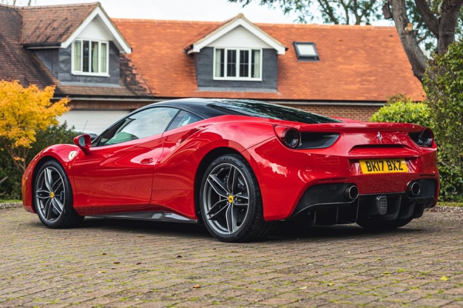 Lot 252 - 2017 Ferrari 488 GTB One owner 5,000 miles For Sale by Auction | Car And Classic