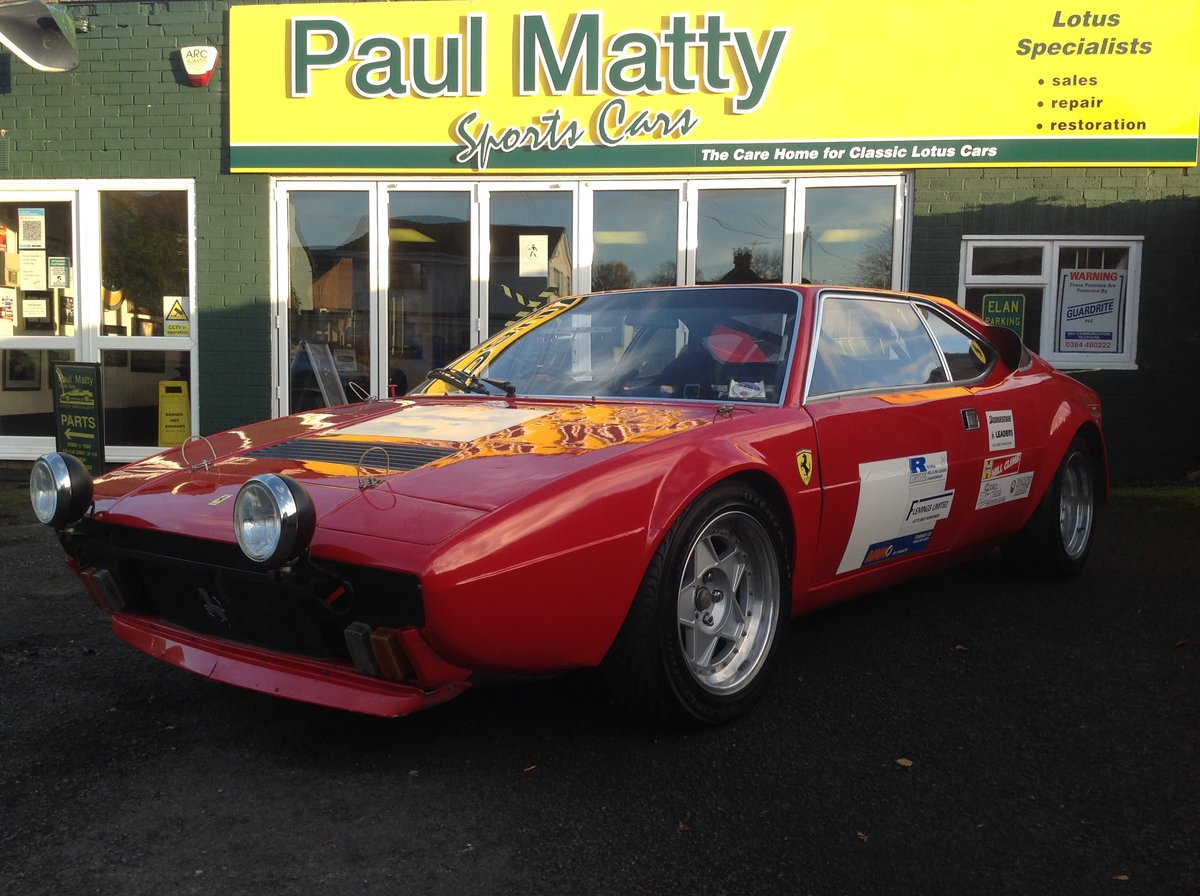 1977 Ferrari 308GT4 - Championship Winning Car For Sale (picture 1 of 6)
