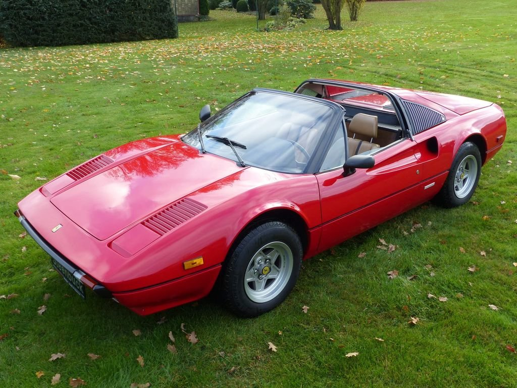 1979 Ferrari 308 GTS - classic Targa in original condition For Sale (picture 1 of 6)