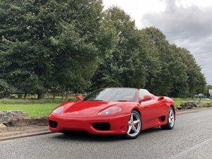 Picture of 2003 Ferrari 360 3.6 Spider F1 2dr SOLD