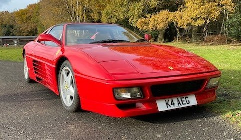 Picture of 1993 Ferrari 348 TS For Sale by Auction