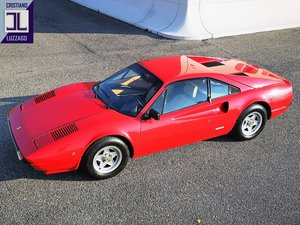 1981 FERRARI 208 GTB ONE OWNER SINCE NEW € 59.800