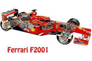 Engine Block Ferrari F1 F2001 Type 050