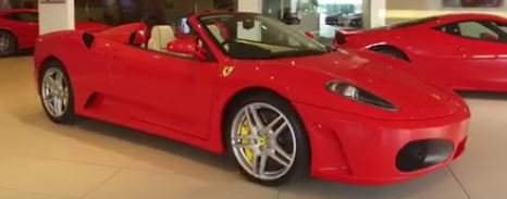 2006 Ferrari F430 F1 Spider . 4,000 miles only. Full Ferrari Hist For Sale (picture 2 of 8)