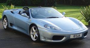 Picture of 2002 Ferrari 360 Spider For Sale