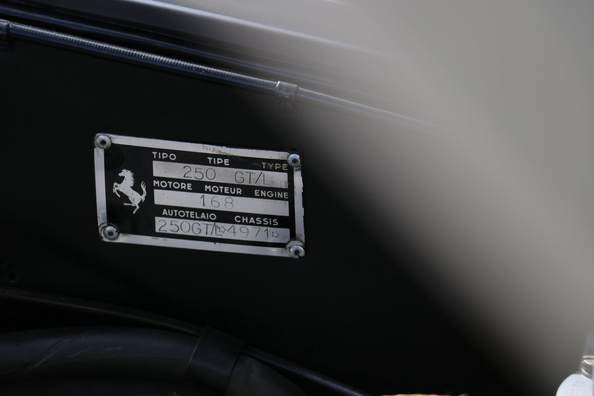 1963 Ferrari 250 Lusso - Matching Numbers For Sale (picture 12 of 12)
