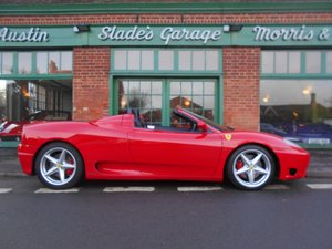 Picture of 2001 Ferrari 360 Spider F1 For Sale
