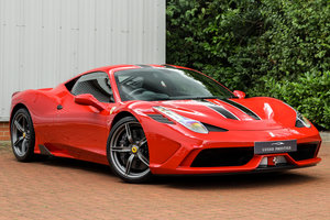 Ferrari 458 Speciale - Ferrari Warranty Until July 2022