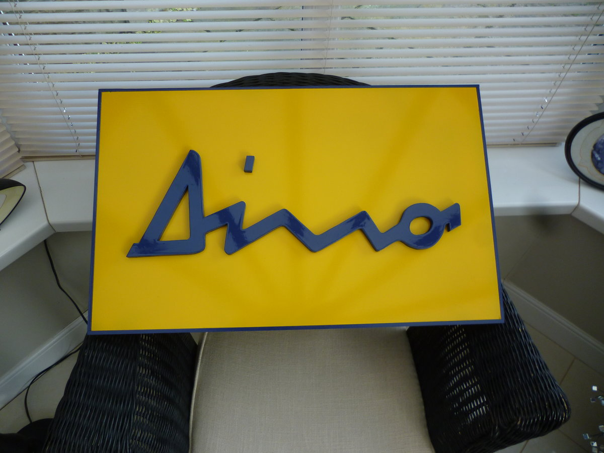 Dino Sign For Sale (picture 1 of 3)