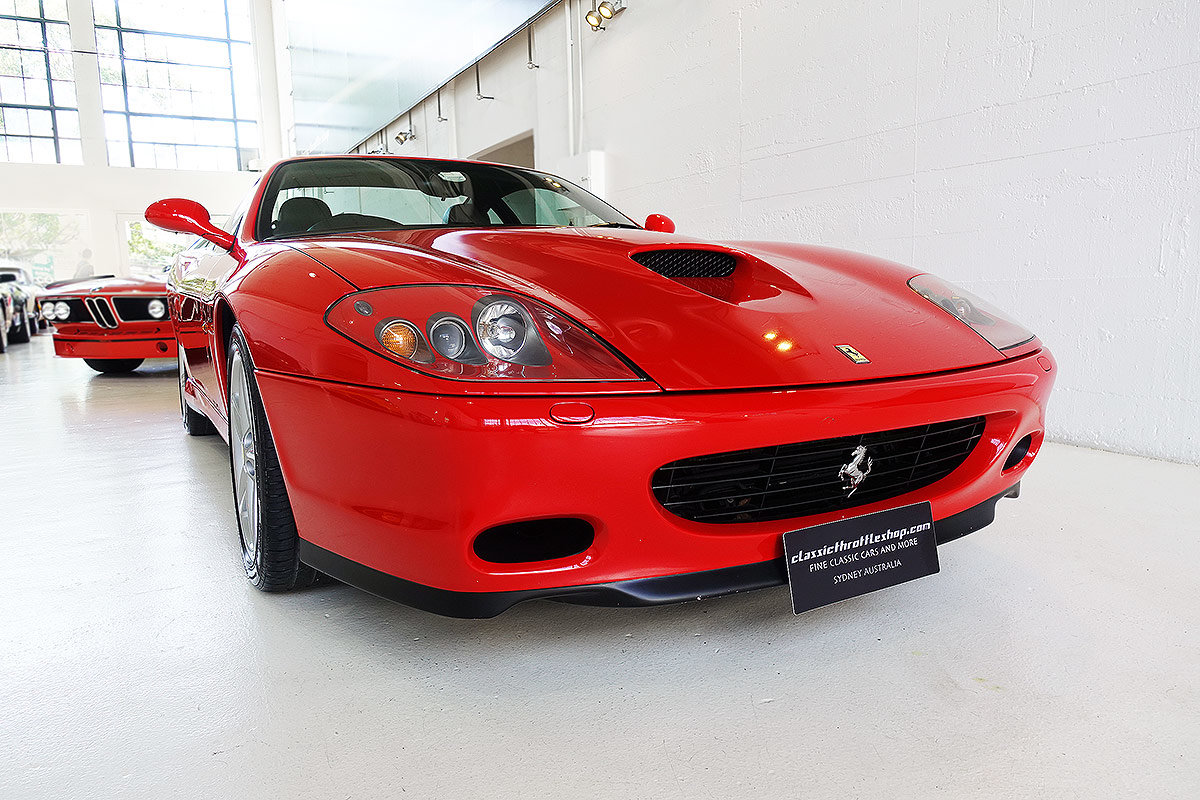 2002 AUS del. 575 M, one owner from new, original, low kms For Sale (picture 1 of 12)