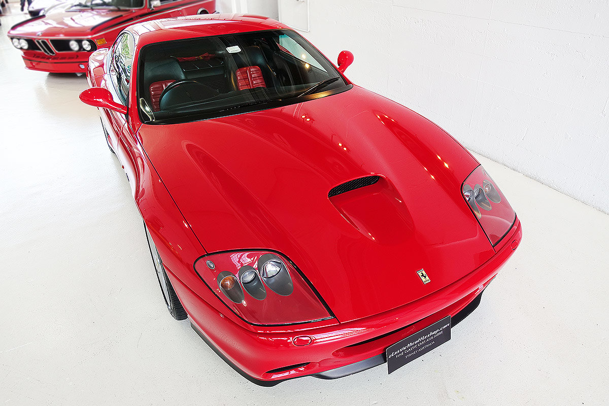 2002 AUS del. 575 M, one owner from new, original, low kms For Sale (picture 4 of 12)