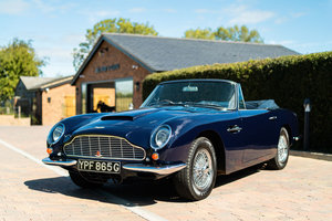 One of the nicest Aston DB6 Volante's currently available