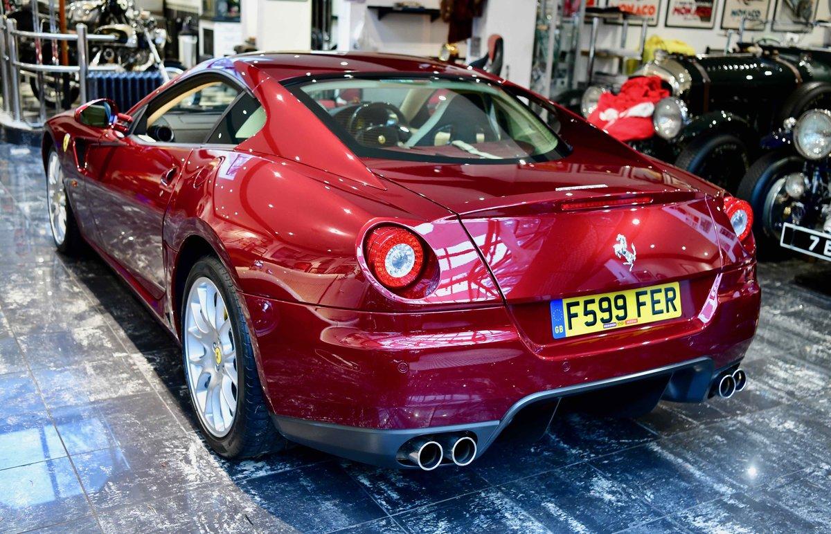 2009 FERRARI 599 6.0 F1 GTB FIORANO For Sale (picture 1 of 12)