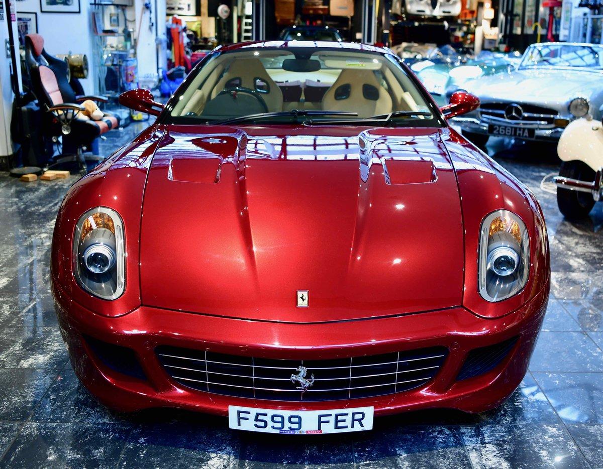 2009 FERRARI 599 6.0 F1 GTB FIORANO For Sale (picture 3 of 12)