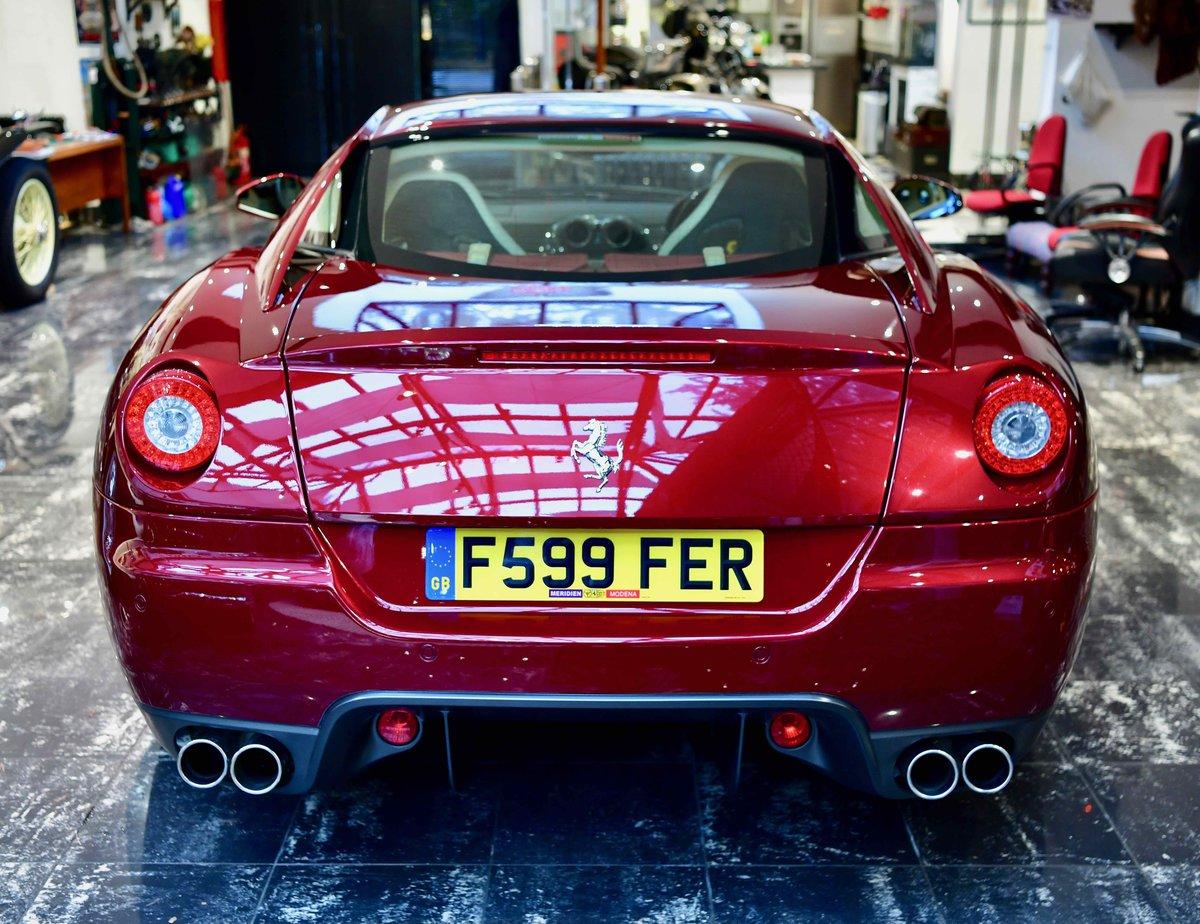 2009 FERRARI 599 6.0 F1 GTB FIORANO For Sale (picture 4 of 12)