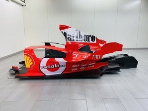 Picture of Ferrari F2004 Complete Engine Cover and Floor For Sale