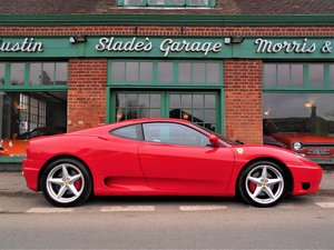 Picture of 2001 Ferrari 360 Coupe Manual For Sale