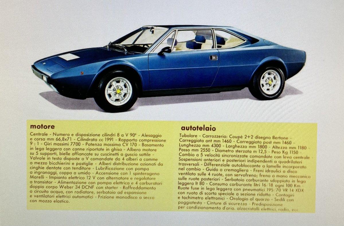 1975 Ferrari 308 GT4 For Sale (picture 4 of 4)