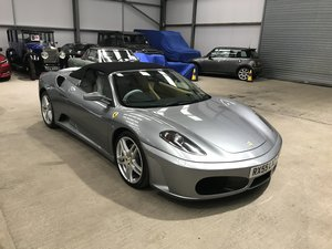 Picture of 2005 Beautiful F430 Spyder, Grigio Titanium/Tan leather, Stunning For Sale