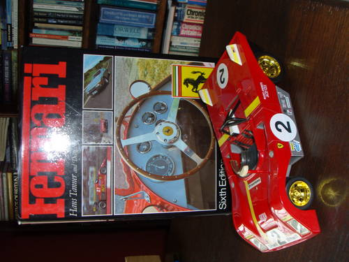 1972 Books &books &Ferrari & Maserati toys! For Sale (picture 1 of 6)