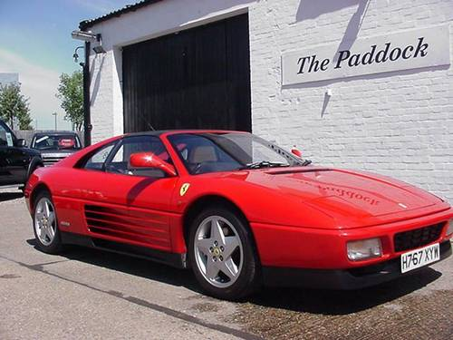 1990 Ferrari 348 TS For Sale (picture 1 of 4)