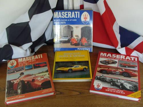 Rare books Ferrari Maserat Lola BRM.discounted For Sale (picture 2 of 6)