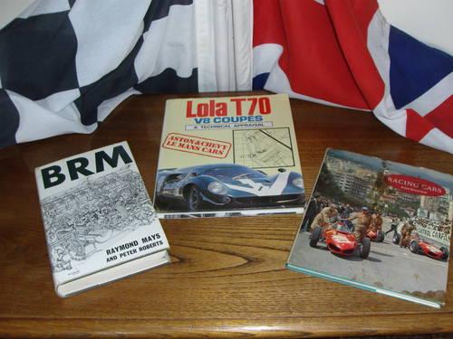 Rare books Ferrari Maserat Lola BRM.discounted For Sale (picture 3 of 6)
