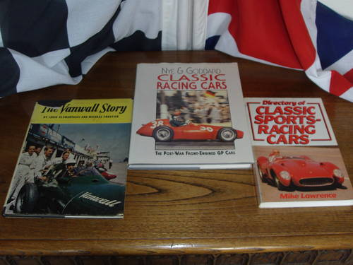 Rare books Ferrari Maserat Lola BRM.discounted For Sale (picture 5 of 6)