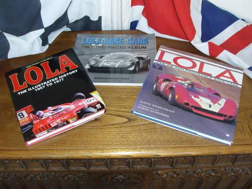 Rare books Ferrari Maserat Lola BRM.discounted For Sale (picture 6 of 6)