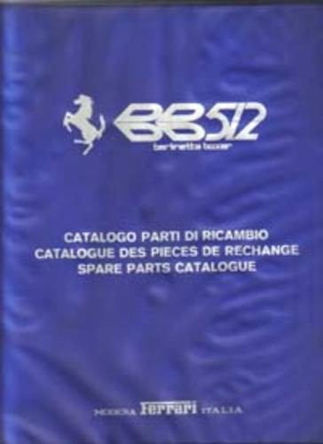 Ferrari Manuals, Spare Parts books, & Brochures. For Sale (picture 5 of 6)