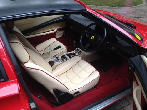 1985 FERRARI 308 GTS QV JUST HAD A MASIVE SERVICE & IS STUNNING For Sale (picture 3 of 6)
