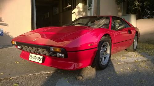 Rare Ferrari 308 GTB Quattrovalvole 1983 Asi Oro 32k kms For Sale (picture 2 of 6)