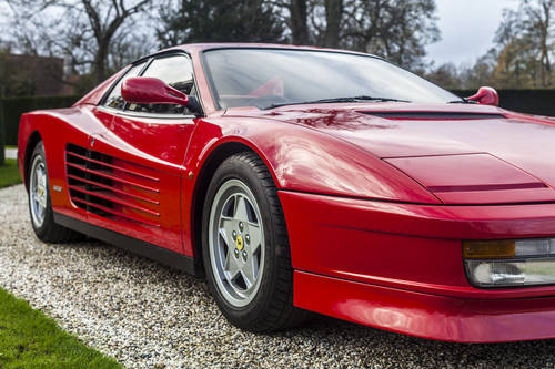 1992 RHD Ferrari Testarossa For Sale (picture 1 of 6)