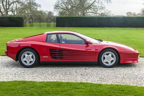 1992 RHD Ferrari Testarossa For Sale (picture 4 of 6)