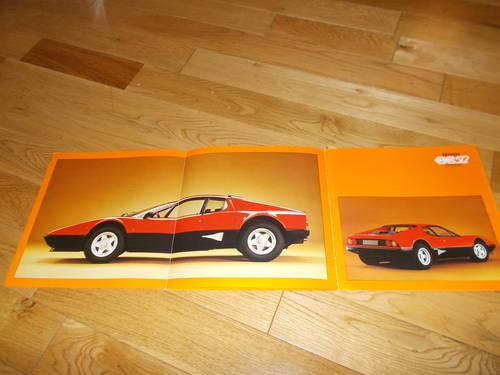 ferrari bb512 sales brochure For Sale (picture 2 of 2)