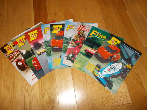 0000 ferrari  club gb owners magazines. For Sale (picture 1 of 2)