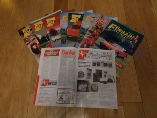 0000 ferrari  club gb owners magazines. For Sale (picture 2 of 2)