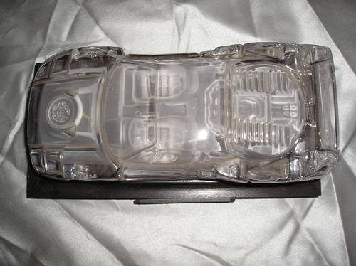 0000 ferrari f40 crystal display/paperweight For Sale (picture 2 of 2)