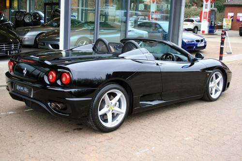 2003 Ferrari 360 3.6 Spider F1, 1 owner from new, 7,981 miles!!! For Sale (picture 2 of 6)