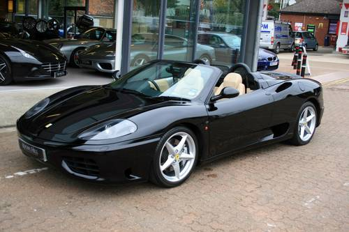 2003 Ferrari 360 3.6 Spider F1, 1 owner from new, 7,981 miles!!! For Sale (picture 3 of 6)