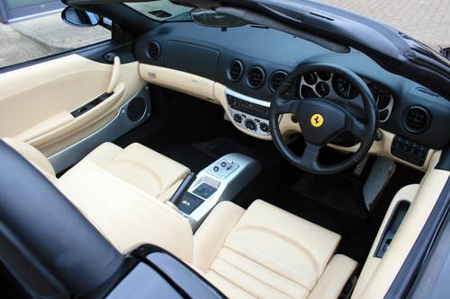 2003 Ferrari 360 3.6 Spider F1, 1 owner from new, 7,981 miles!!! For Sale (picture 5 of 6)