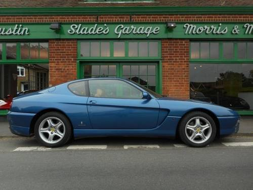 1995 Ferrari 456 Coupe Manual  For Sale (picture 1 of 4)