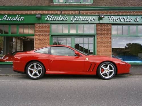 1999 Ferrari 550 Maranello Coupe Manual  SOLD (picture 1 of 4)