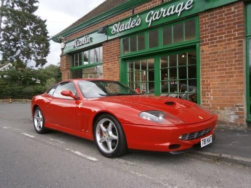 1999 Ferrari 550 Maranello Coupe Manual  SOLD (picture 2 of 4)