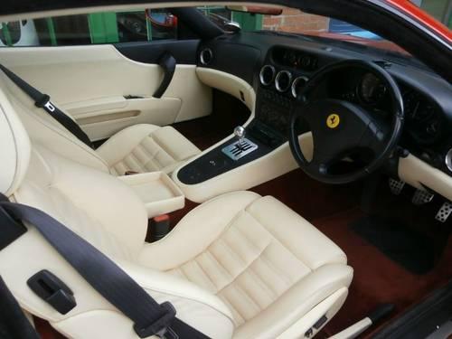 1999 Ferrari 550 Maranello Coupe Manual  SOLD (picture 4 of 4)